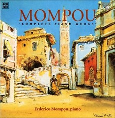 Federico Mompou Complete Piano Works CD 4 No. 1