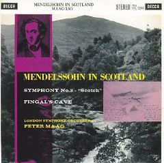 Decca Sound CD 29 - Mendelssohn In Scotland