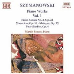 Karol Szymanowski Piano Music Works CD 1