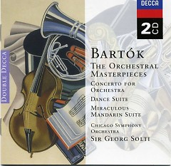Bartok The Orchestral Masterpieces CD 2