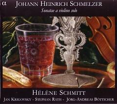 Sonatae A Violino Solo CD 2 - Jorg-Andreas Botticher,Stephan Rath,Jan Krigovsky,Helene Schmitt