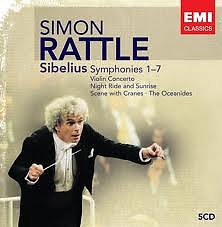 Sibelius: Symphonies 1-7 CD2 - Simon Rattle,City Of Birmingham Symphony Orchestra