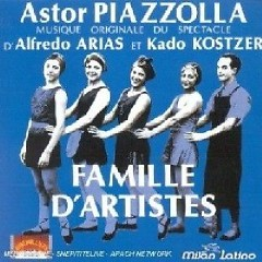 Famille d'Artistes - Ástor Piazzolla