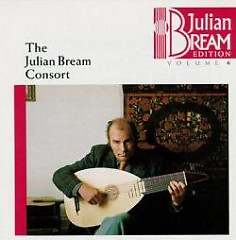 Julian Bream Edition Vol 6 - Julian Bream Consort CD 1