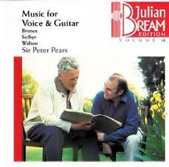 Julian Bream Edition Vol 18 - Music For Voice And Guitar CD 1