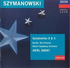 Symphony No 3 & 2 Bartok