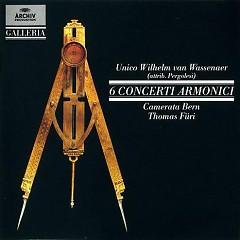 6 Concerti Armonici CD 1