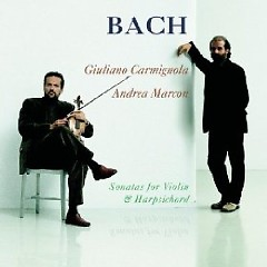 Bach - Sonatas For Violin And Harpsicord CD 1