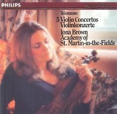 Telemann - 5 Violin Concertos