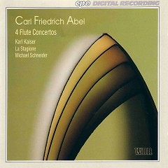 Carl Friedrich Abel - 4 Flute Concertos