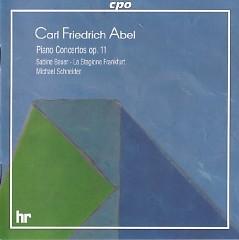 Abel - Piano Concertos Op. 11 - Frankfurt La Stagione Orchestra,Melinda Schneider