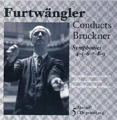 Furtwängler Conducts Bruckner - Symphonies Nos. 4 - 9 CD 1