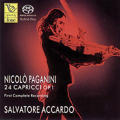 Nicolo Paganin 24 Capricci Op 1 Disc 1