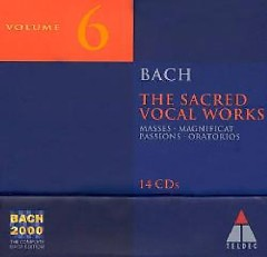Bach 2000 Vol 6 - Sacred Vocal Works CD 9