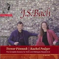 Bach Complete Sonatas For Violin And Obbligato Harpsichord CD 1 No.1 - Trevor Pinnock,Rachel Podger