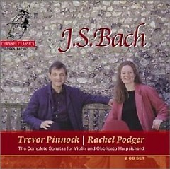 Bach Complete Sonatas For Violin And Obbligato Harpsichord CD 1 No.2 - Trevor Pinnock,Rachel Podger