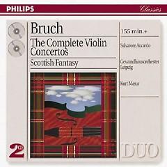 The Complete Violin Concertos CD 2