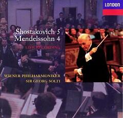 Mendelssohn - Symphony No. 4, Shostakovich - Symphony No.5