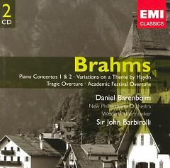 Brahms Piano Concertos Nos. 1 & 2 CD 2