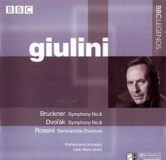 Bruckner Symphony No.8 & Dvorak Symphony No.8 Disc 2