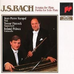 Bach - Partita And Sonatas For Flute CD 2 - Jean-Pierre Rampal,Trevor Pinnock