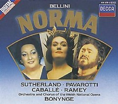 Bellini - Norma CD 3 - Joan  Sutherland,Luciano Pavarotti,Richard Bonynge