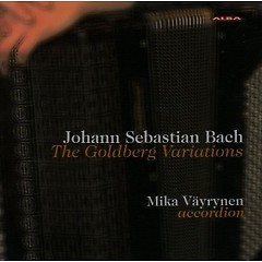 Goldberg Variations By Mika Vayrynen CD 1