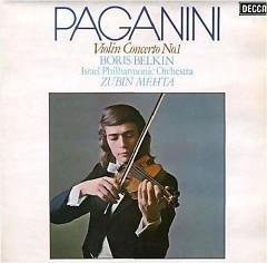 Niccolo Paganini – Violin Concerto No. 1