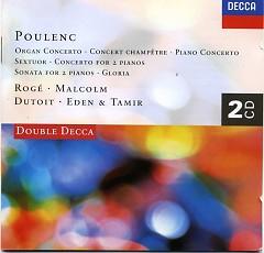 Poulenc Organ Concerto Gloria Concert Champtre CD 2