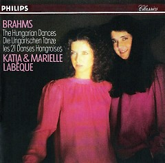 Brahms 21 Hungarian Dances CD 1 - Marielle Labèque,Katia Labèque