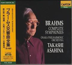 Brahms Symphony CD 2