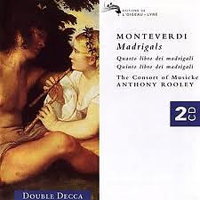 Monteverdi Madrigals CD 2 No. 1