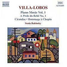 Villa Lobos Piano Music CD 1 No. 1 - Sonia Rubinsky