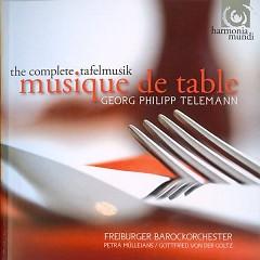 Telemann - The Complete Tafelmusik  CD 1 - Gottfried von der Goltz,Freiburger Barockorchester