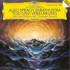 Richard Strauss - Also Sprach Zarathustra; Tod und Verklarung - Giuseppe Sinopoli,New York Philharmonic