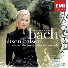 Bach Works For trumpet CD 1
