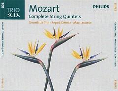 Mozart - Complete String Quintets CD 3