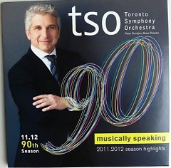 Toronto Symphony Orchestra Musically Speaking 2011 - 2012