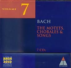 Bach 2000 Vol 7 - The Motets, Chorales & Songs CD 1