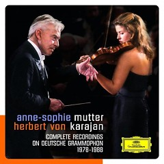 Complete Recordings On Deutsche Grammophon CD 5 - Anne - Sophie Mutter,Herbert von Karajan
