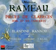 Rameau - Nouvelles Suites De Pieces De Clavecin CD 2 - Blandine Rannou