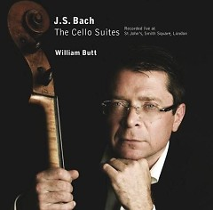 Bach - The Cello Suites CD 1 No. 1 - William Butt