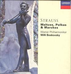 Strauss - Waltzes, Polkas & Marches CD 2 - Willi Boskovsky,Vienna Radio Symphony Orchestra