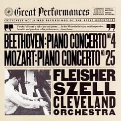 Beethoven Piano Concerto No. 4, Mozart Piano Concerto No. 25