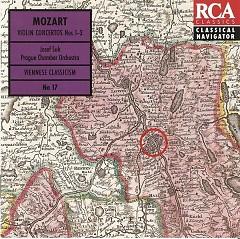 Mozart Violin Concertos CD 1 - Josef Suk