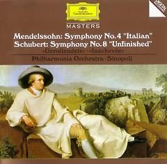 Mendelssohn -  Symphony No. 4 Italian & Schubert - Symphony No. 8 Unfinished - Giuseppe Sinopoli,Philharmonia Orchestra