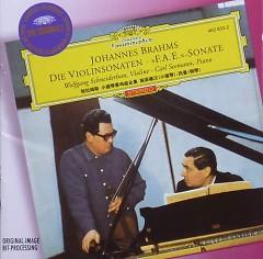 Brahms Die Violinsonaten, Fae Sonate - Wolfgang Schneiderhan,Carl Seemann