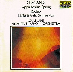 Aaron Copland - Appalachian Spring, Rodeo, Fanfare For The Common Man