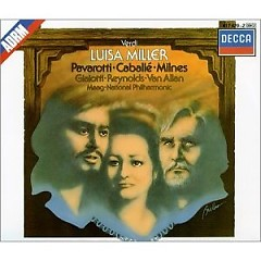 Verdi - Luisa Miller  - Luciano Pavarotti,Giuseppe Sinopoli