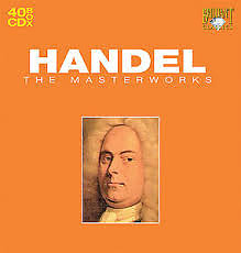 Handel - The Masterworks CD 10  No. 3